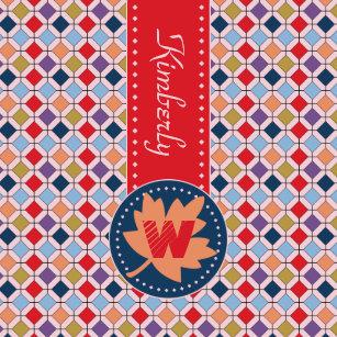 Monogram Trendy Autumn Fall Fashion Color Palette Wham-O Frisbee 5cfb1b6ac5b9