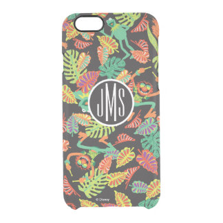 Monogram Tropical Kermit & Animal Pattern 2 Clear iPhone 6/6S Case