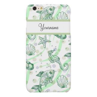 Monogram Tropical Pattern Matte iPhone 6 Plus Case