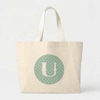 Monogram U Jumbo Tote Bag