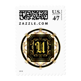 Monogram U Fits all Get Other Products W/Monogram Postage