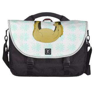 Monogram U Funny Pony Customised Commuter Bags