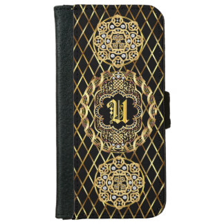 Monogram U IMPORTANT Read About Design Wallet Phone Case For iPhone 6/6s