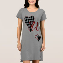 Monogram U Women's T-Shirt Dress