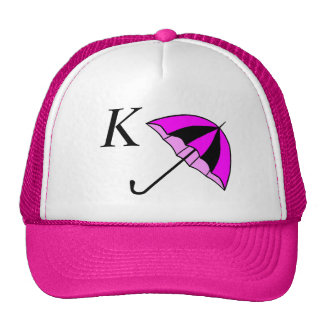 Monogram,umbrella girl,Custom Trucker Hat
