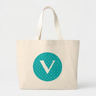 Monogram V Jumbo Tote Bag