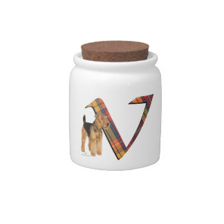 Monogram V Candy Jars