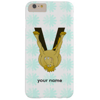 Monogram V Flexible Horse Personalised Barely There iPhone 6 Plus Case