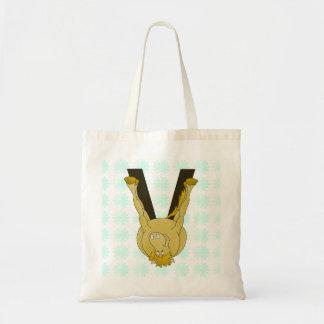 Monogram V Flexible Horse Personalised Tote Bag