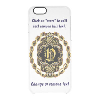 Monogram V iPhone 5/5s & 6-6 plus  Deflector Case Uncommon Clearly™ Deflector iPhone 6 Case