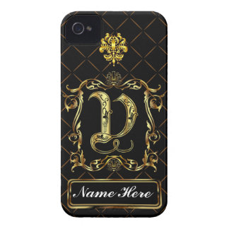 Monogram V iphone Case Mate Please View Notes Case-Mate iPhone 4 Cases