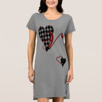 Monogram V Women's T-Shirt Dress