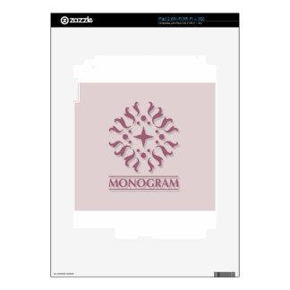 Monogram Vector Skins For iPad 2
