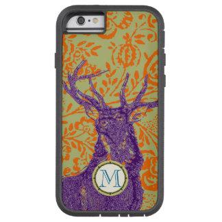Monogram Vintage Deer Art Nouveau Forest iphone Tough Xtreme iPhone 6 Case