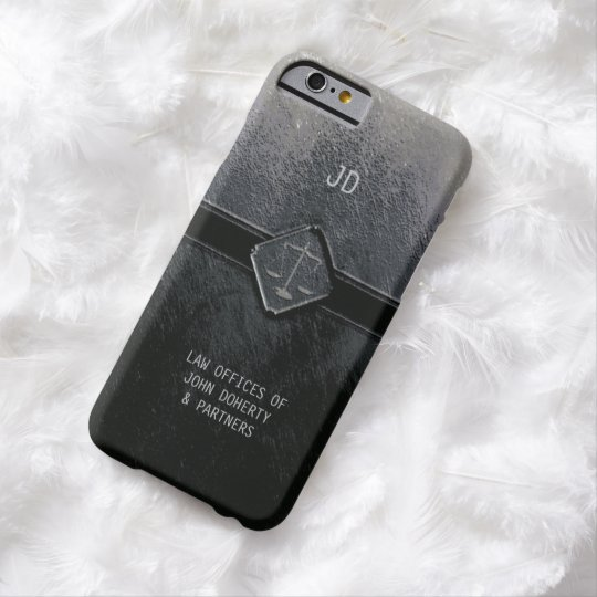 Monogram | Vintage Scales of Justice Barely There iPhone 6 Case