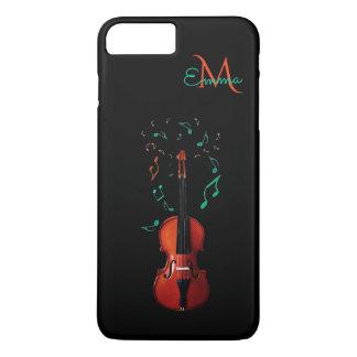 Monogram Violin Music iPhone 7 Plus Case