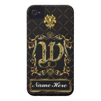 Monogram W iphone Case Mate Please View Notes iPhone 4 Case-Mate Case