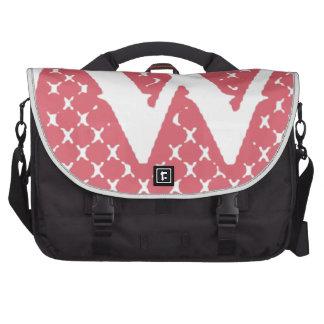 Monogram W Laptop Bag