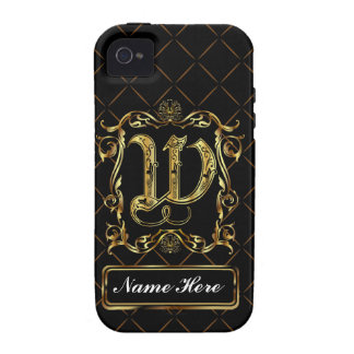 Monogram W Vibe Important View Notes Please iPhone 4 Cover