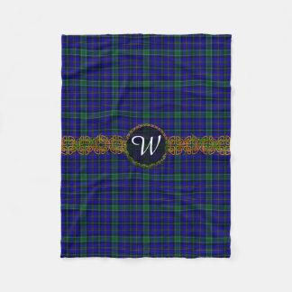 Monogram Weir Tartan Fleece Blanket