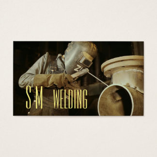 Monogram Welding Business Card