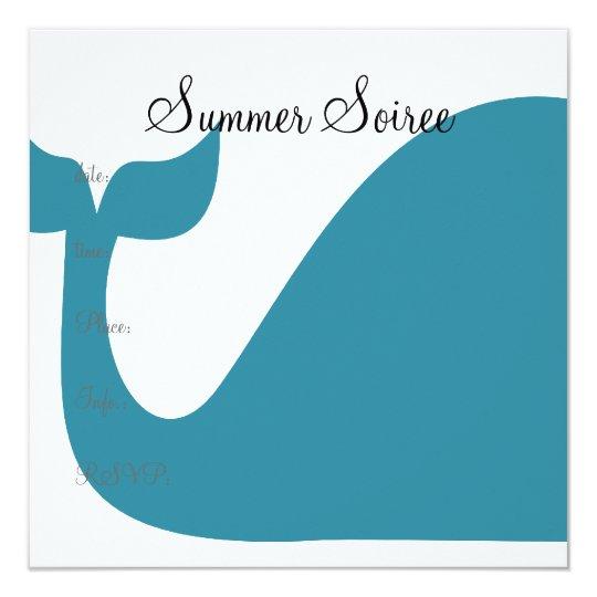 Monogram Whale Card