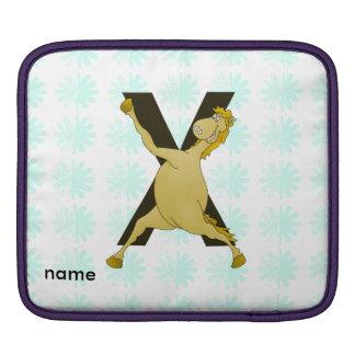 Monogram X Agile Pony Customised Sleeve For iPads