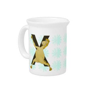 Monogram X Agile Pony Customized Drink Pitcher