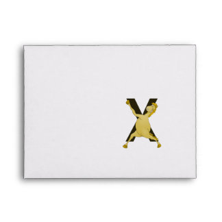 Monogram X Agile Pony Customized Envelope