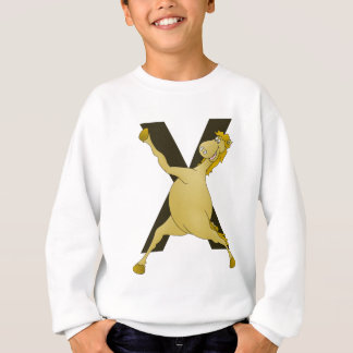 Monogram X Agile Pony Customized Sweatshirt