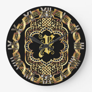 Monogram X IMPORTANT Read About Design Wall Clock