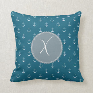 Monogram 'X' Throw Pillow