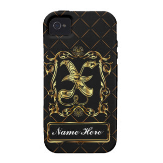 Monogram X Vibe Important View Notes Please Case-Mate iPhone 4 Cover