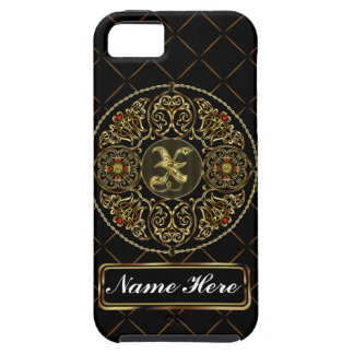 Monogram X Vibe Important View Notes Please iPhone 5 Case