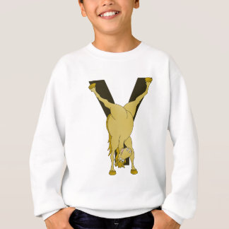 Monogram Y Agile Pony Customised Sweatshirt