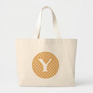 Monogram Y Jumbo Tote Bag