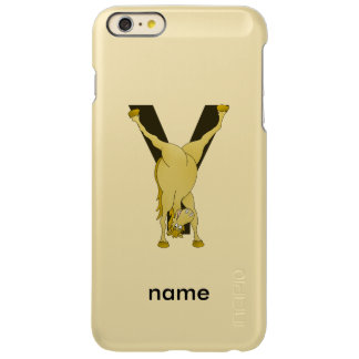 Monogram Y Funny Pony Personalised Incipio Feather Shine iPhone 6 Plus Case