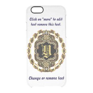 Monogram Y iPhone 5/5s & 6-6 plus  Deflector Case