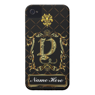 Monogram Y iphone Case Mate Please View Notes Case-Mate iPhone 4 Case