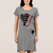 Monogram Y Women's T-Shirt Dress