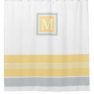 Yellow Shower Curtains | Zazzle