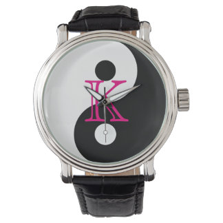 Monogram Yin Yang Wrist Watch