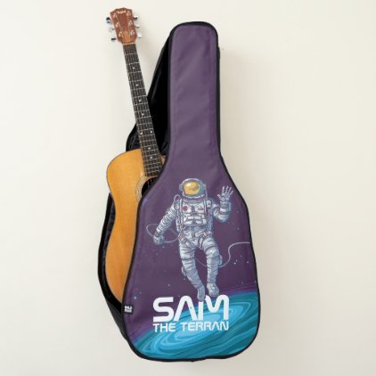 Monogram. You The Terran in Space. Funny Gift. Guitar Case