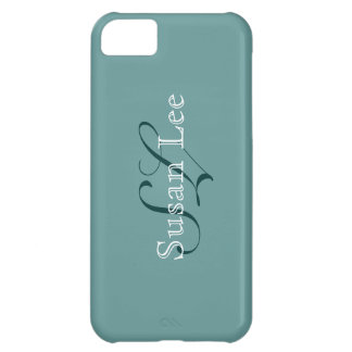 monogram ~ your name case for iPhone 5C