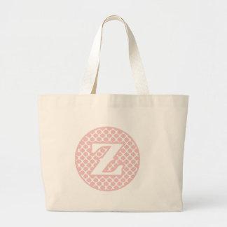 Monogram Z Jumbo Tote Bag