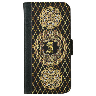 Monogram Z IMPORTANT Read About Design Wallet Phone Case For iPhone 6/6s