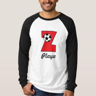 Monogram Z in Soccer Red T-shirt