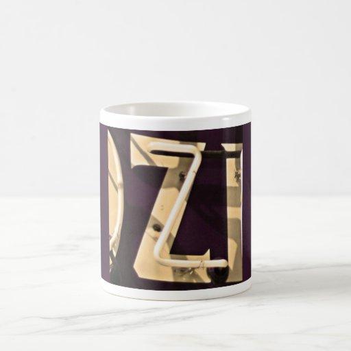 Monogram Z Letter Mug Retro Green