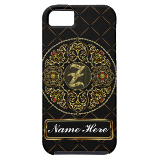 Monogram Z Vibe Important View Notes Please iPhone 5 Case