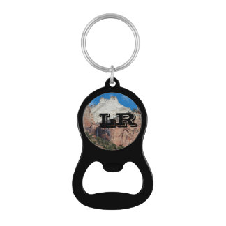 Monogram Zion Canyon Keychain and Bottle Opener